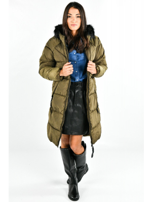 ONLMONICA LONG PUFFER COAT CC