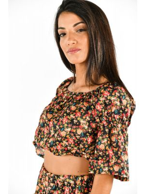 CLEA TOP CROPPED PROVENZALE