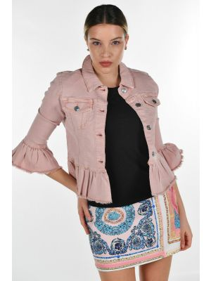 ONLSIA 3/4 FRILL COLOUR JACKET