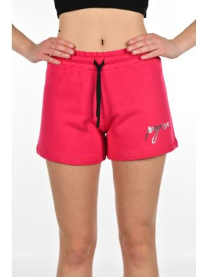 SHORTS IN FELPA SCRITTA BASIC