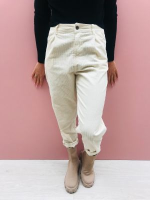 CAVE PANTALONE 7/8 BAGGY VELLUTO