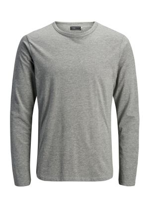 BASIC O-NECK TEE L/S NOOS