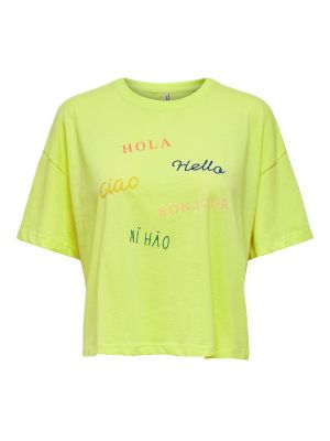 ONLNAVA LIFE S/S TOP BOX JRS
