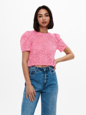 ONLNEW ALBA S/S CROPPED PUFF TOP JRS