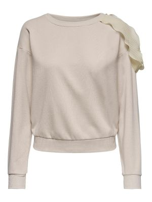 ONLPETRA L/S O-NECK FRILL SWT
