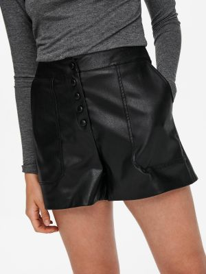 ONLSANDY FAUX LEATHER SHORTS
