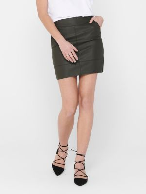 ONLBASE FAUX LEATHER SKIRT OTW
