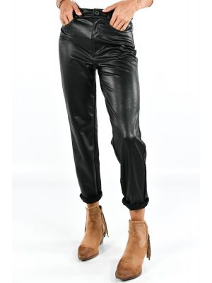 ONLEMILY HW ST ANK FAUX LEATHER PNT NOOS