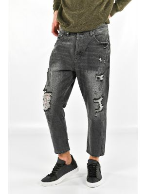 JEANS MIKE CARROT CROPPED FIT