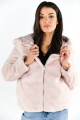 VMTHEA HOODY SHORT FAUX FUR JACKET